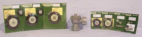 Goyen Repair kits with Valve